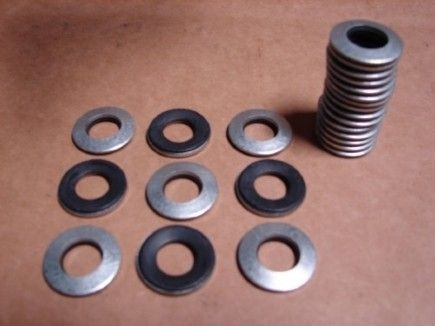 Rubber backed Bonded Washers