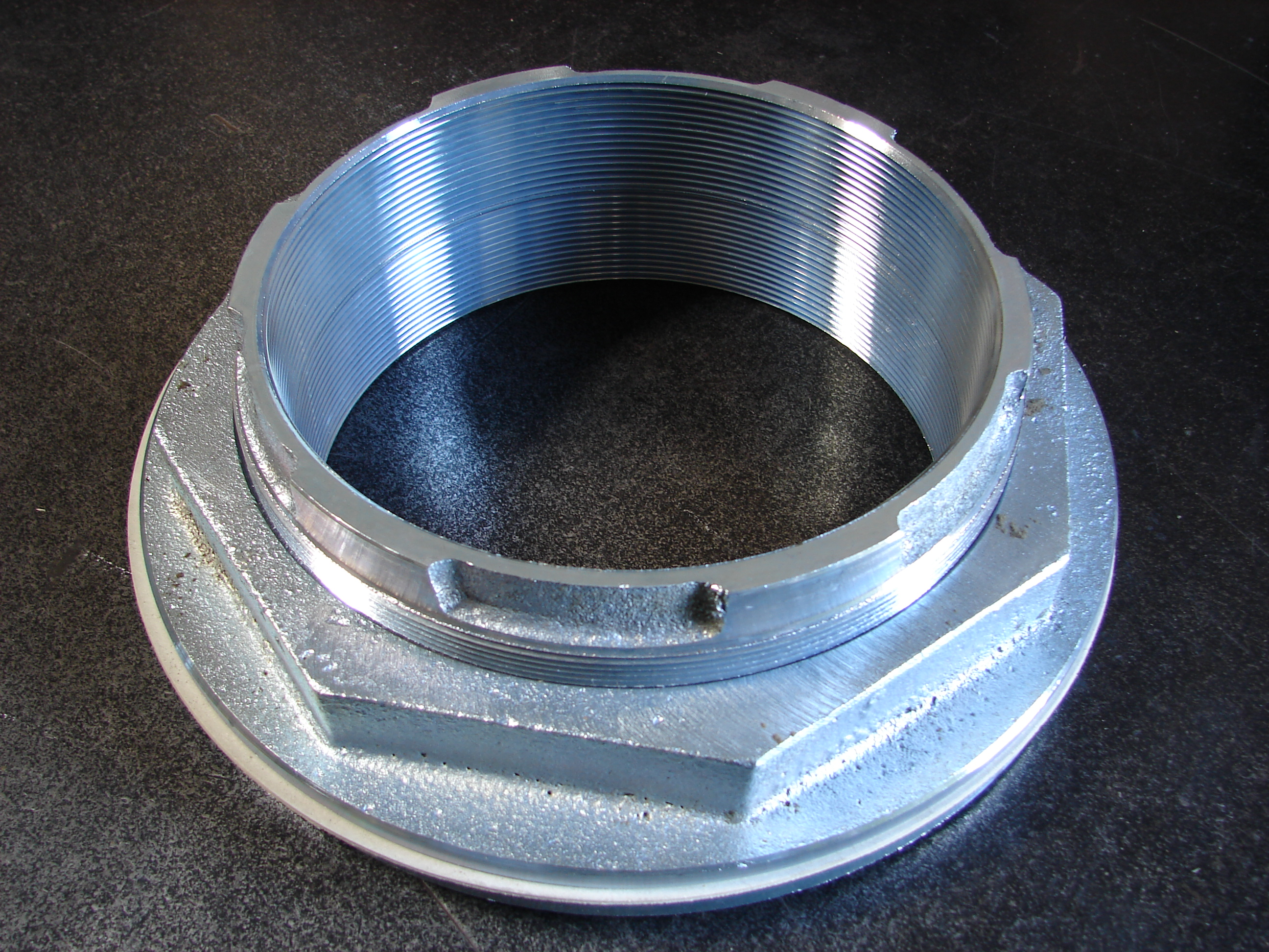Steel Unitank Flanges
