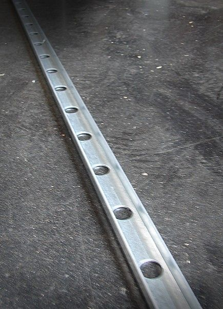 Bolted Backing Channel